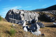 rocas subiendo al puerto