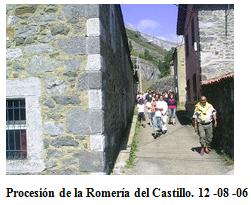 Procesión en la Romería del Castillo