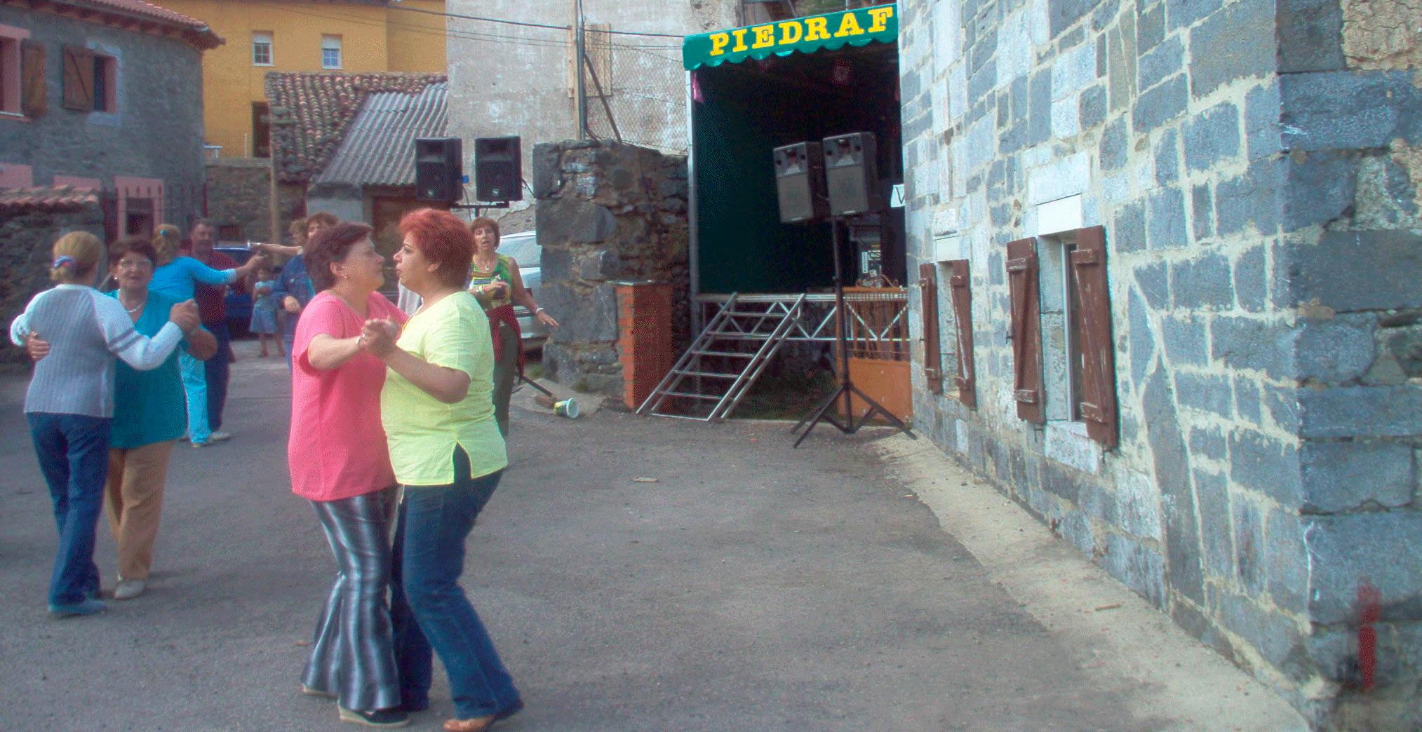 fiestas y folclore de Piedrafita