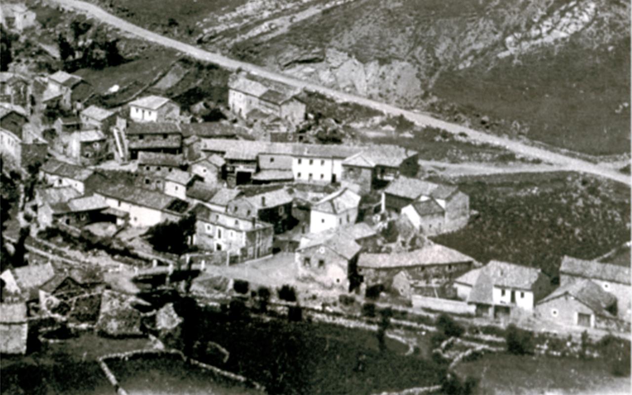 vistas de Piedrafita antigua